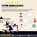 Mudahkan Siswa Pilih Guru Les Berkualitas, Insan Cerdas Luncurkan Fitur Profil Tutor